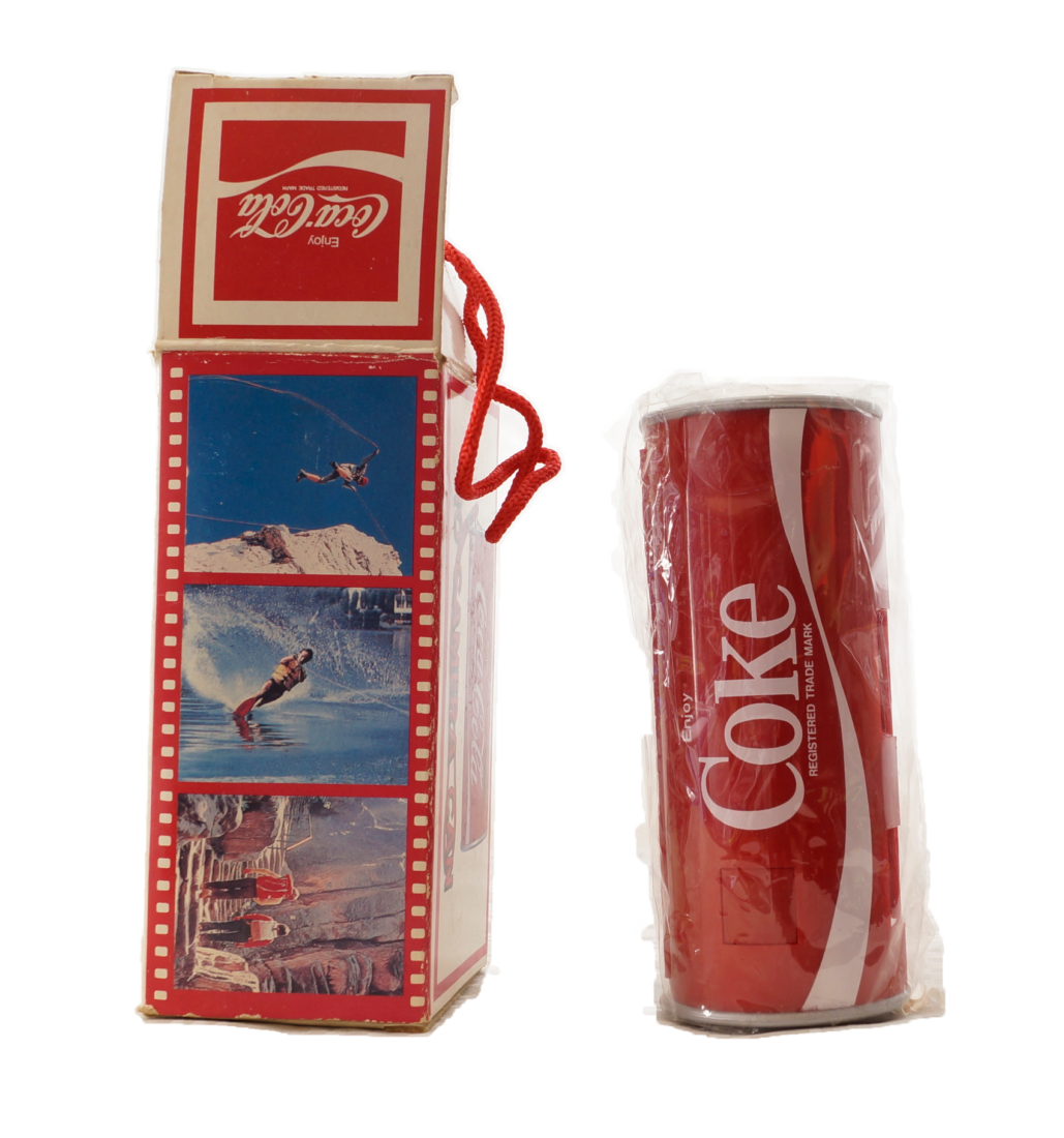 Coca Cola Dosen Kamera